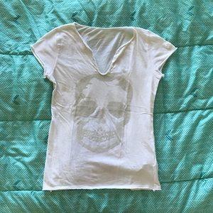 Zadig & Voltaire Rivet Skull T-Shirt -✨LIKE NEW!✨